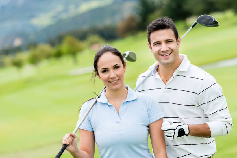 golf couple dating