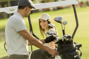 Why Golfers Make Ideal Partners