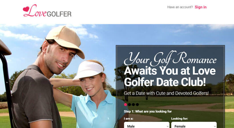 love golfer homepage