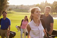 golfers and ladies